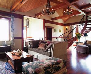 古典欧式风格复式楼室内装修效果图鉴赏