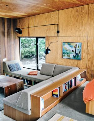 95平米后现代风格客厅实木家居效果图赏析