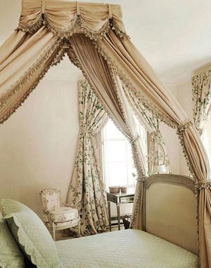 欧式田园风格两居室女生卧室装修效果图鉴赏