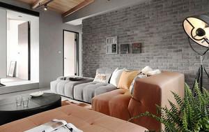 日式简约风格男生公寓室内装修效果图赏析