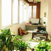 90平米日式风格阳台榻榻米设计效果图赏析
