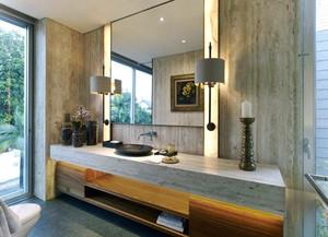 现代简约风格两居室卫生间装修设计效果图赏析