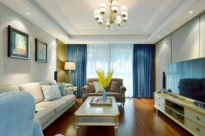 现代美式风格大户型室内装修效果图鉴赏