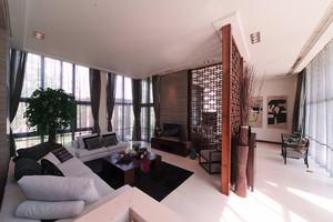 现代中式风格别墅室内装修效果图鉴赏