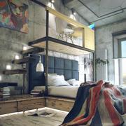 现代loft风格小户型跃层书房设计效果图鉴赏