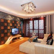 现代风格三居室室内客厅装修效果图鉴赏