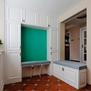 欧式风格别墅型轻快舒适鞋柜装修效果图