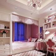 12平米欧式风格儿童房装修效果图鉴赏