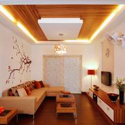 15平米现代风格客厅装修效果图鉴赏