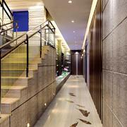 455平米现代风格酒店过道装修效果图赏析