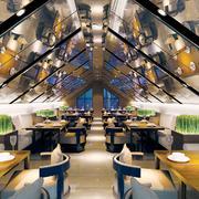 200平米现代风格酒店大厅装修效果图赏析