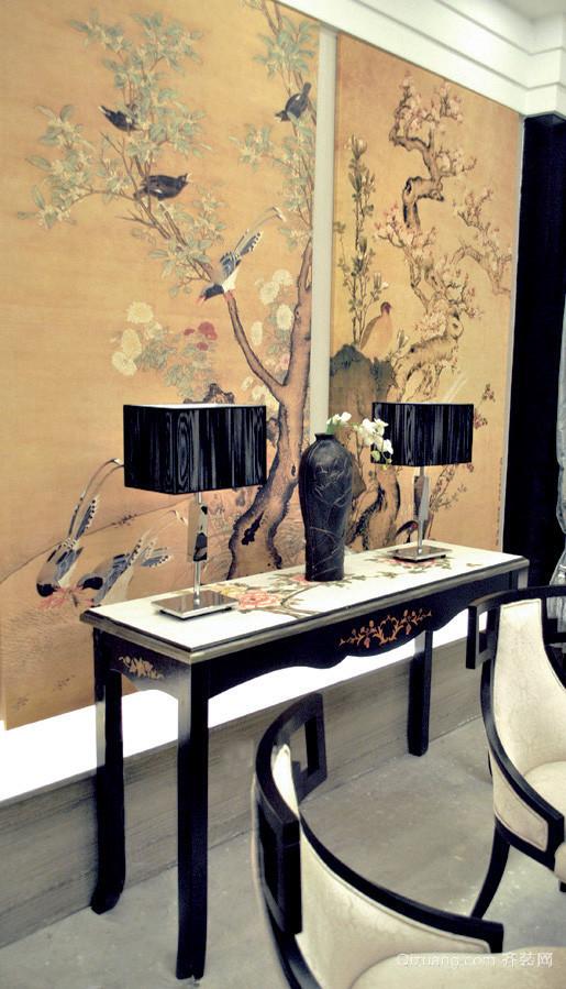 55平米现代风格精致酒店包厢挂画效果图赏析