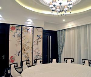 现代风格30平米酒店包厢屏风效果图鉴赏