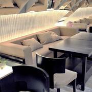 150平米现代风格咖啡厅装修效果图赏析