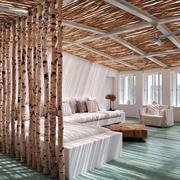 简约北欧风格二居室客厅装修效果图鉴赏