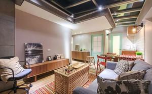 108平米都市小清新风格室内装修效果图赏析