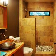 125平米复古中式风格卫生间装修效果图赏析