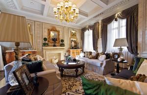 160平米古典欧式风格室内装修效果图鉴赏