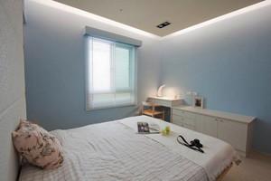 8平米韩式风格卧室装修效果图赏析
