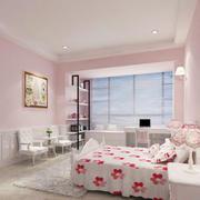 80平米韩式风格长方形卧室装修效果图鉴赏