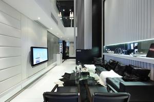 后现代风格三层别墅室内装修效果图赏析
