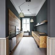 美式风格四居室厨房装修效果图鉴赏