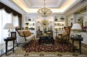 古典欧式风格精致别墅室内装修效果图鉴赏