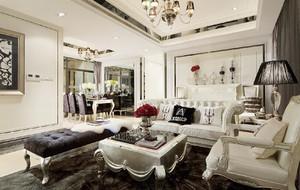 675平米欧式风格别墅室内装修效果图赏析