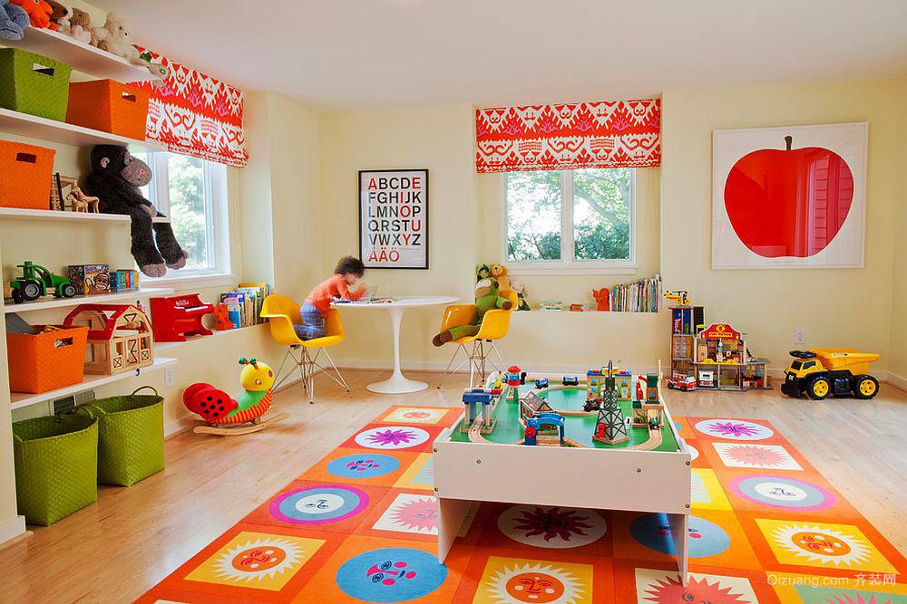 现代简约风格大户型儿童房装修效果图鉴赏