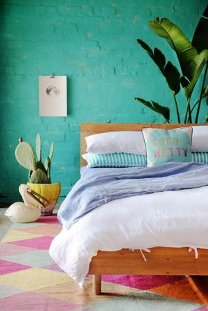 现代田园风格小户型卧室装修效果图赏析