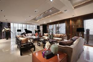 150平米现代中式风格室内装修效果图鉴赏
