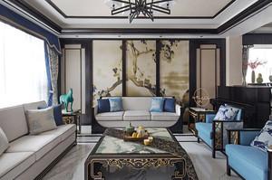 新中式风格大户型室内装修效果图赏析