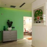 欧式风格小户型室内鞋柜装修效果图实例