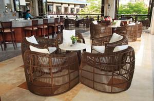120平米东南亚风格咖啡屋装修效果图鉴赏