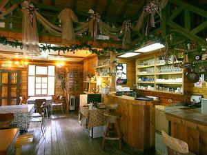 95平米美式乡村风格咖啡屋室内装修效果图