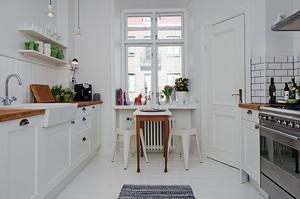 7平米北欧风格厨房装修效果图赏析