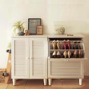 欧式风格两居室百叶鞋柜效果图赏析