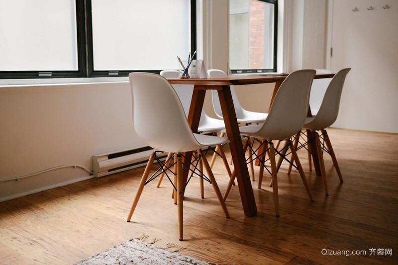 北欧风格单身公寓餐厅装修系效果图鉴赏