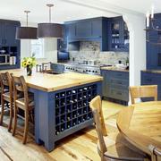地中海风格大户型厨房橱柜效果图鉴赏