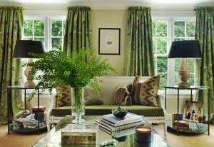 复古田园风格两居室客厅装修效果图鉴赏