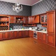 135平米欧式风格海尔整体厨房设计效果图鉴赏