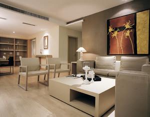 后现代极简主义风格小户型室内装修效果图