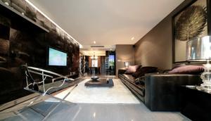 后现代奢华风格三居室室内装修效果图鉴赏