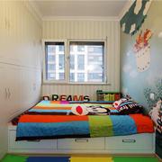 85平米简约风格创意儿童房装修效果图鉴赏