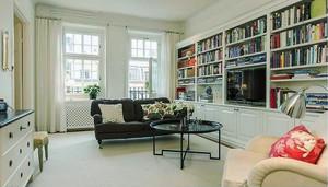 美式风格小户型客厅书房装修效果图赏析