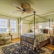 美式田园风格两居室卧室装修效果图鉴赏