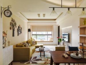 田园风格两居室室内装修效果图鉴赏