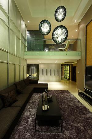 现代风格别墅室内装修效果图赏析