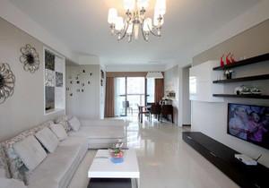 现代简约风格四居室客厅装修效果图赏析