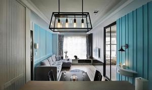 现代loft风格一居室室内装修效果图